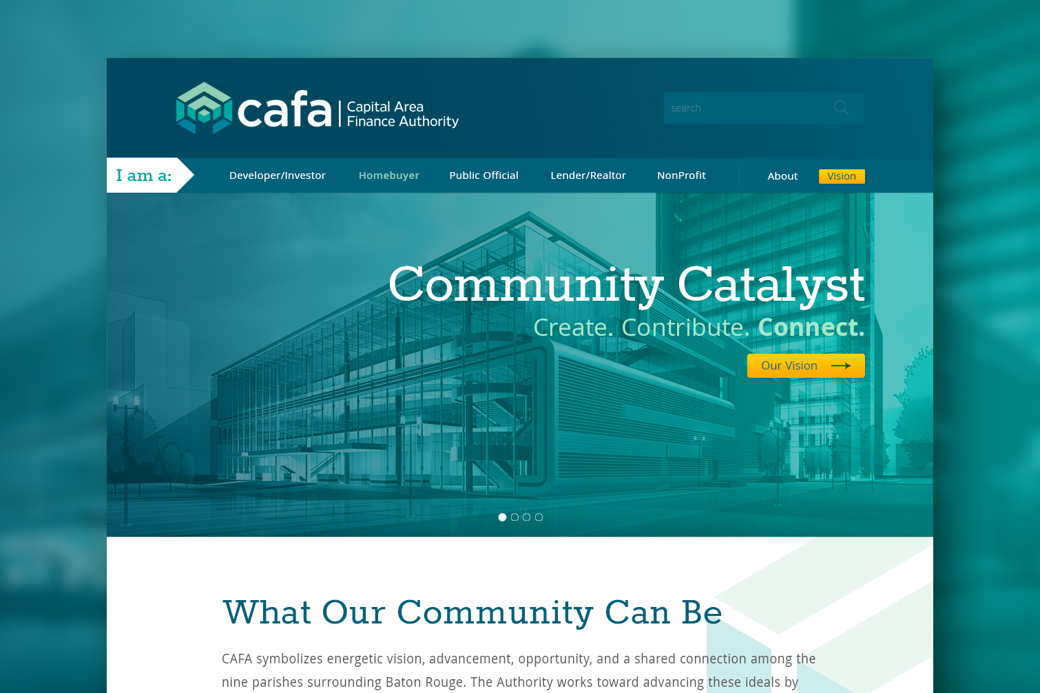 CAFA: Website Design
