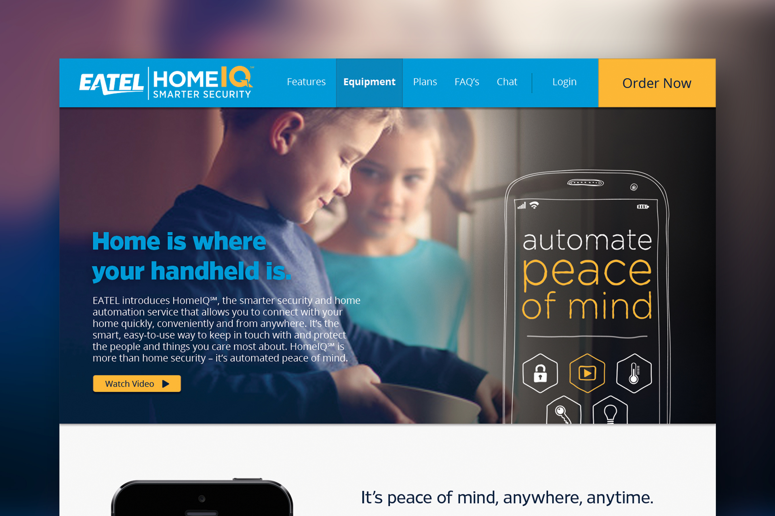 EATEL: Home IQ Website