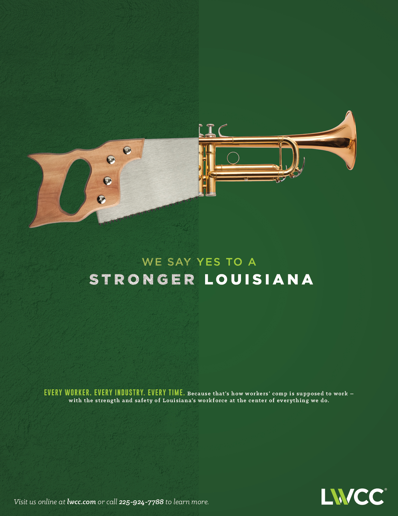 LWCC: 2016 Print Ad — Stronger