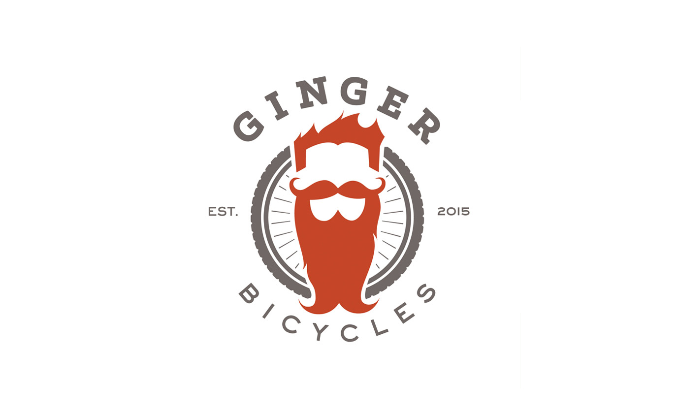 LOGOS: Ginger Bicycles