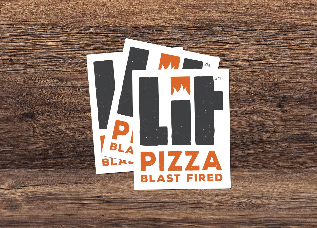 LIT: Stickers Mockup