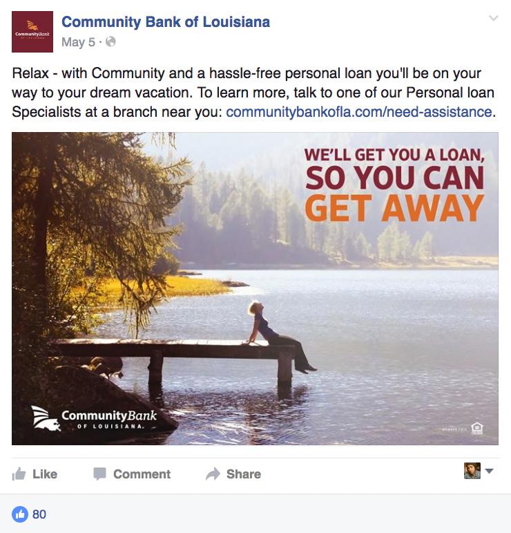 CBLA: Social Posts - Get Away