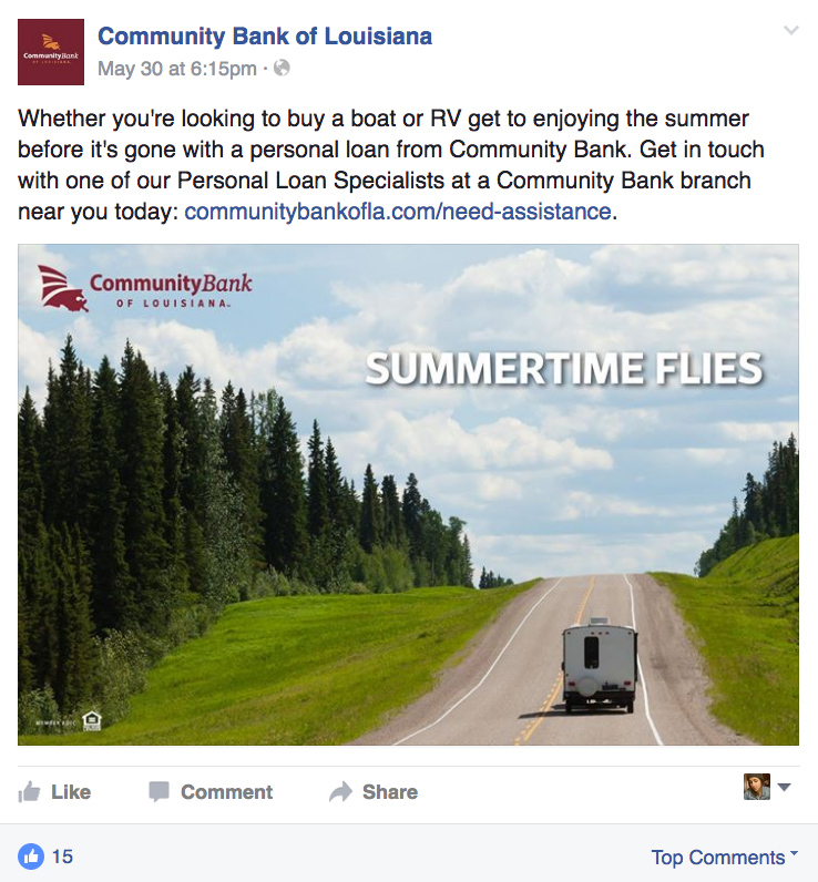 CBLA: Social Post - Summertime Flies