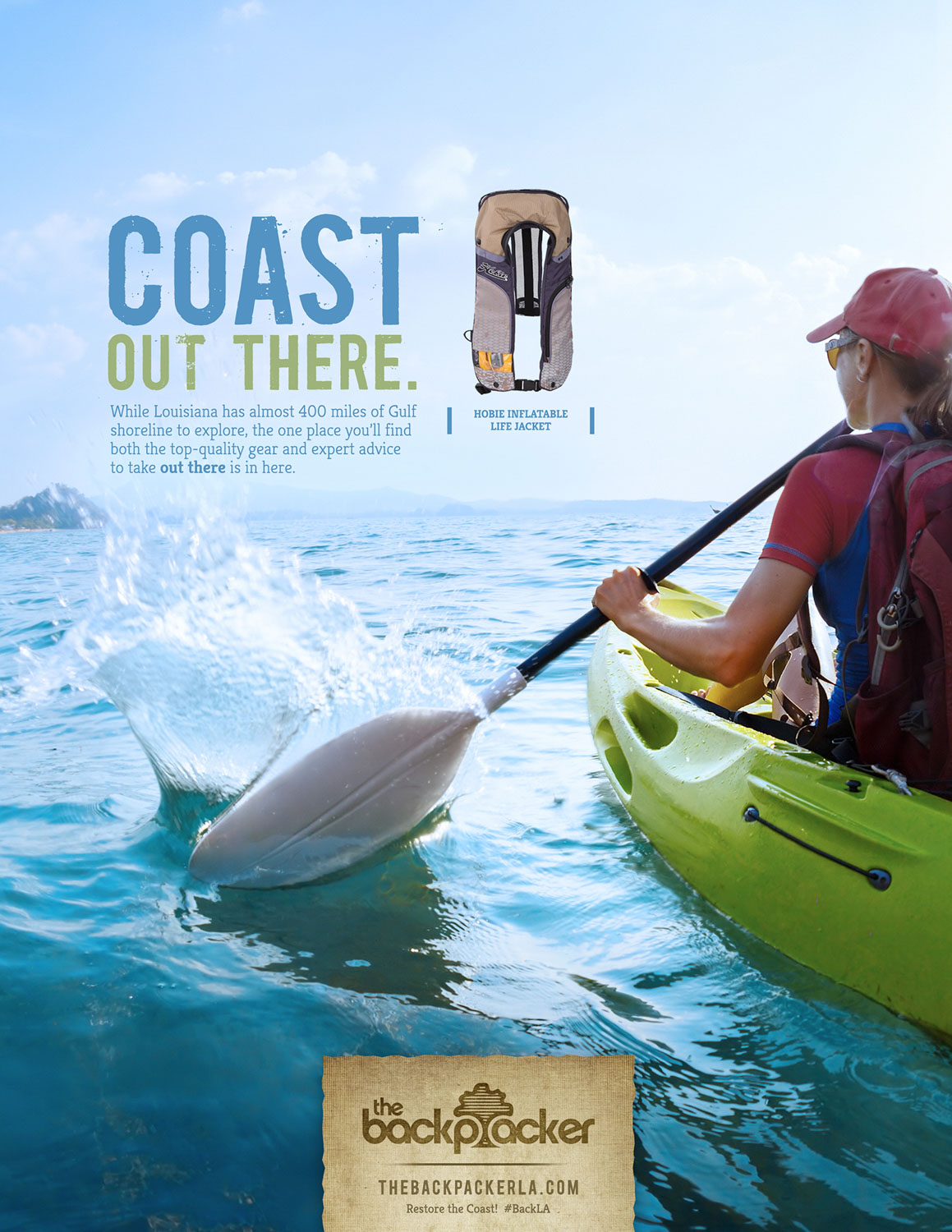 BCK: Coast Out There Print Ad
