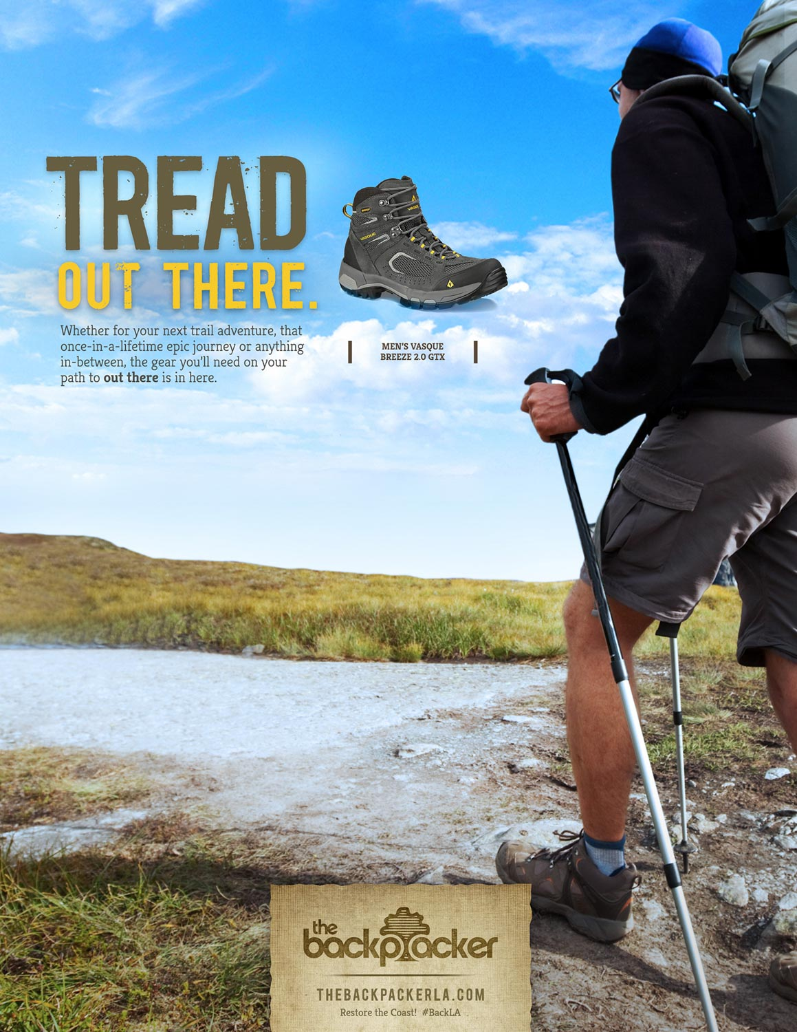 BCK: Tread Out There Print Ad