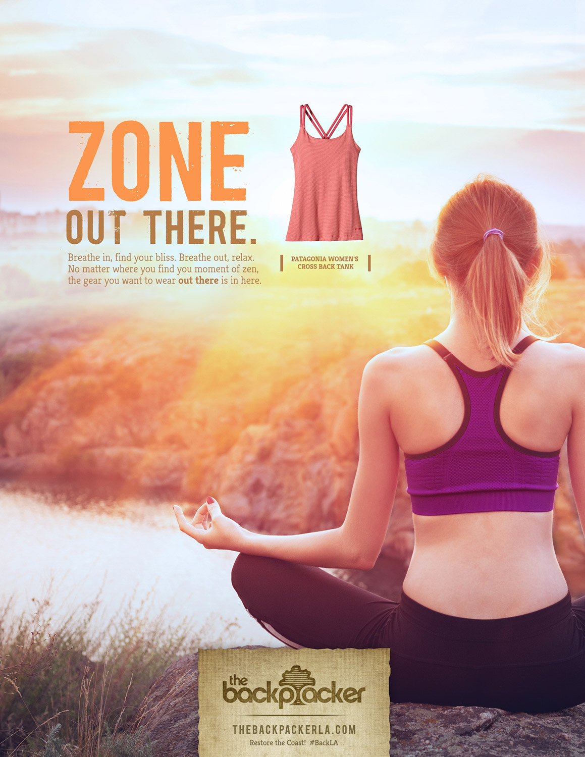 BCK: Zone Out There Print Ad