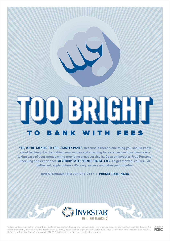 INV: Print Ad – Too Bright