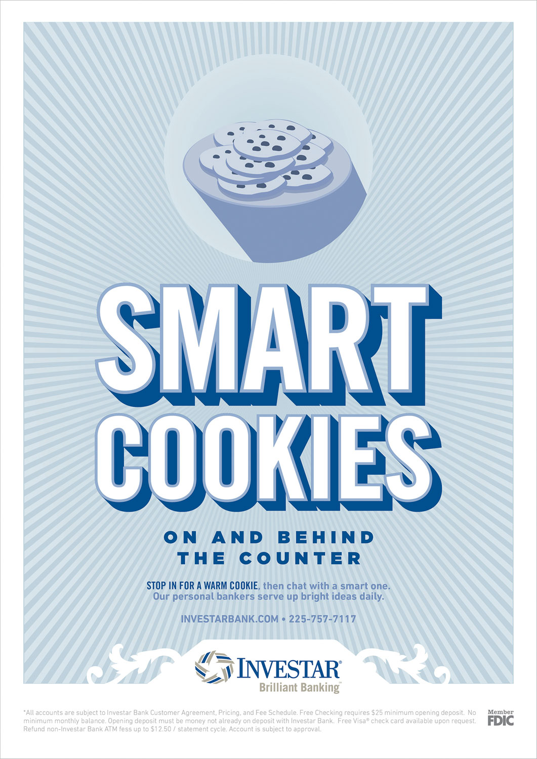 INV: Print Ad — Smart Cookies