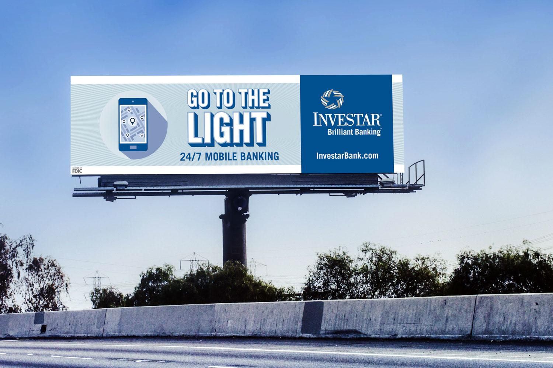 INV: Billboard — Go to the Light Mockup