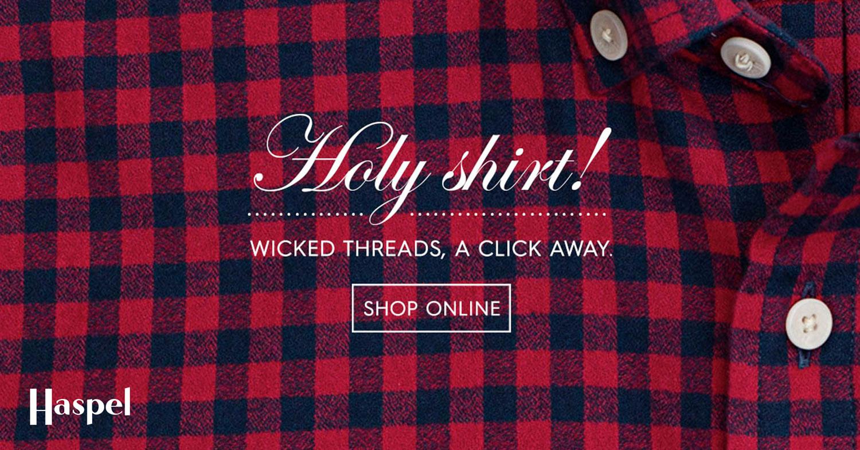 HAS: Holy Shirt Banner
