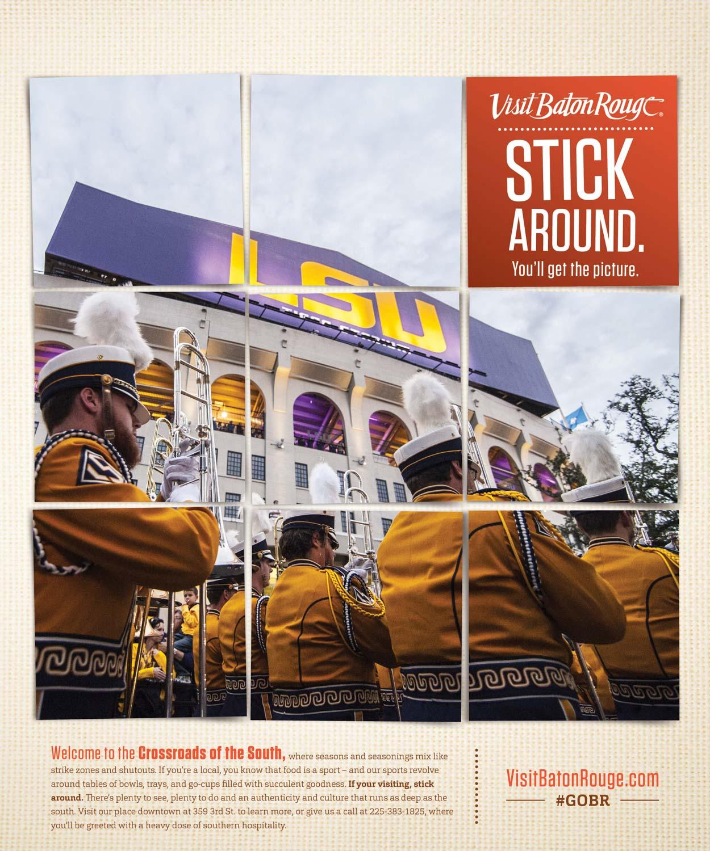 VBR: Ad — LSU Band
