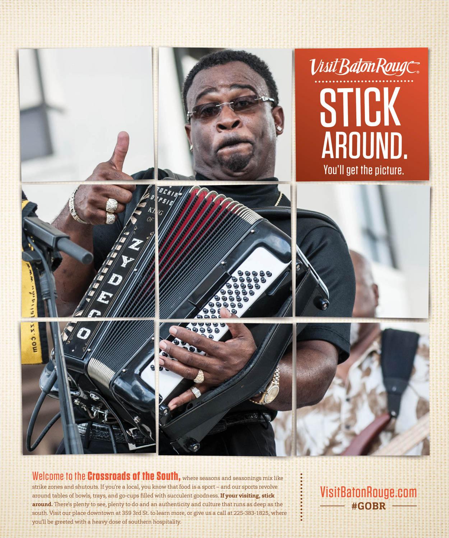 VBR: Ad — Black Zydeco Musician