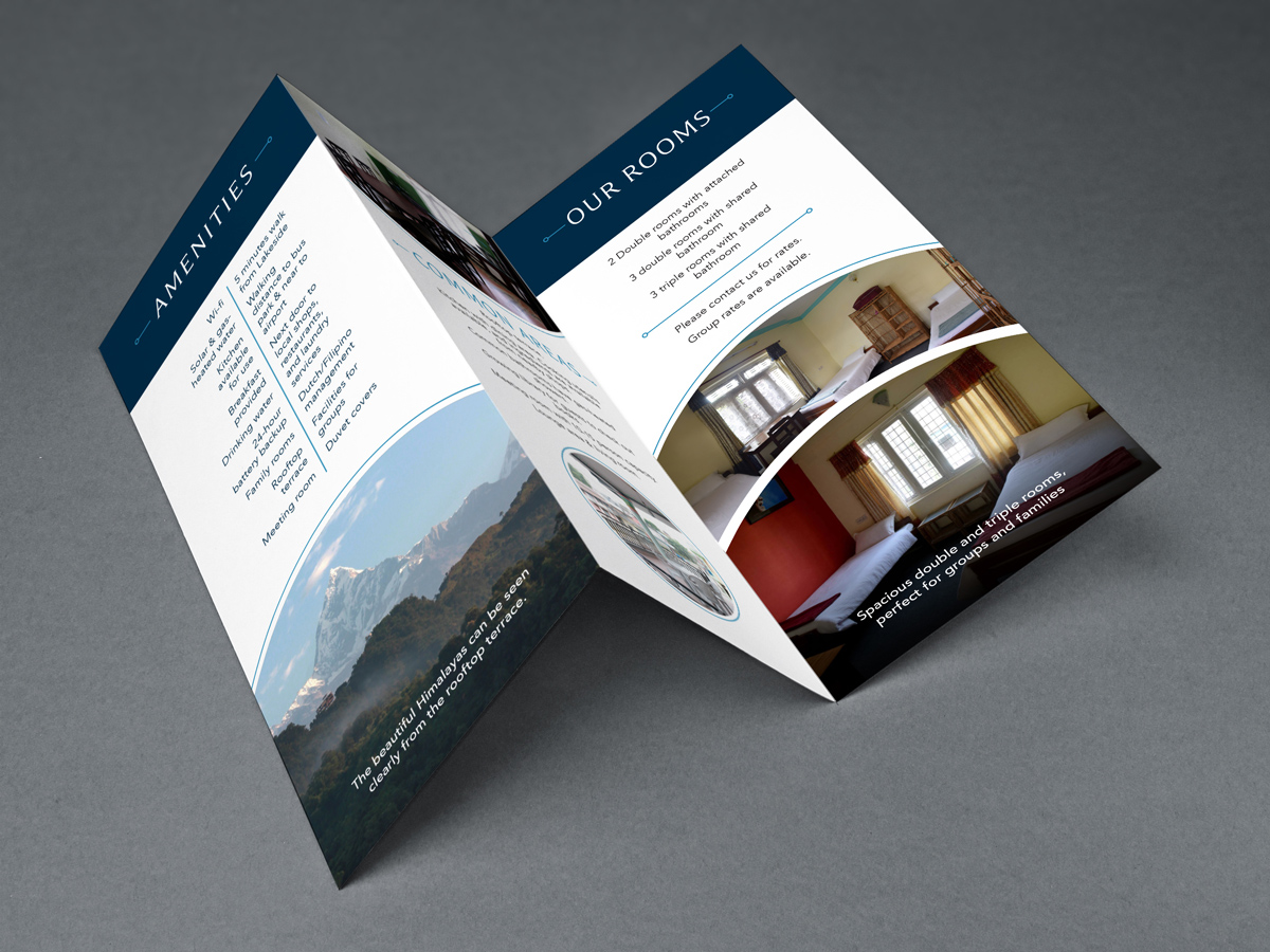Lucca Bed and Breakfast Brochure