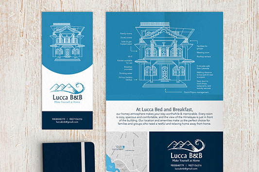 Lucia Guesthouse Print Design