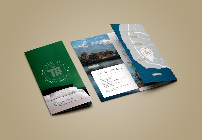 Traveller's Guest House brochure