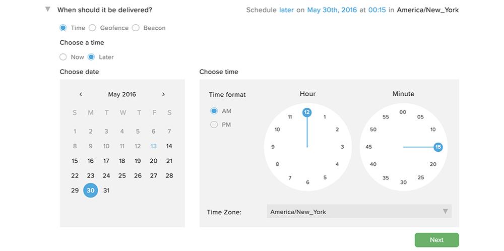 Date & time app | Contrat Quebec