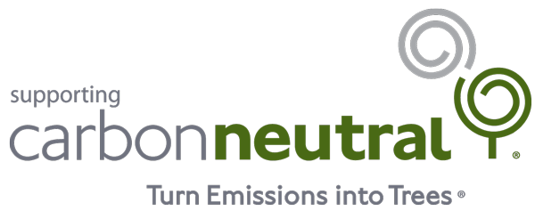 Supporting Carbon Neutral. Turn emissions into trees.