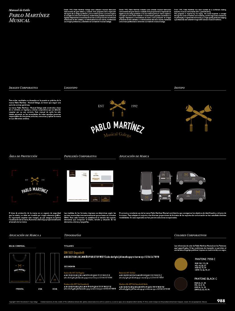manual de marca Negativo