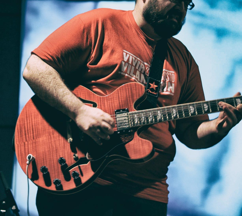 Guitarrista Vivir Vilamarín