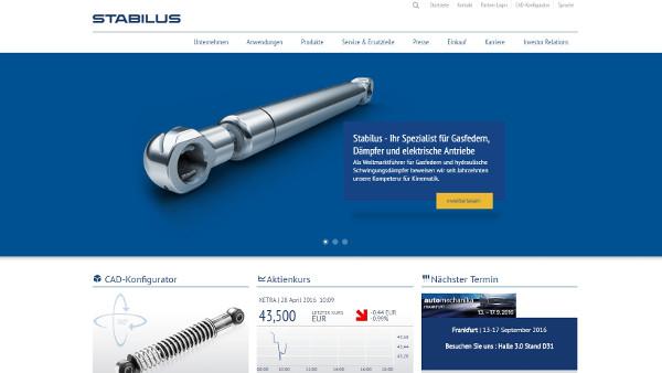 Stabilus S.A. (DE)