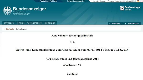 AXA Gruppe (DE)