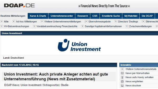Union Investment (DE)