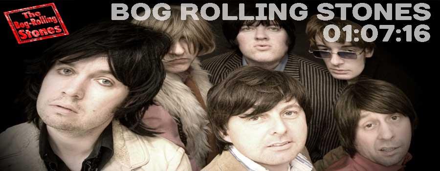 Bog Rolling Stones