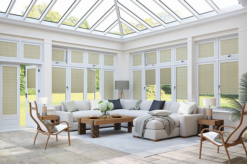 Pleated Blinds Gallery | Sunline Curtains and Blinds Ltd.