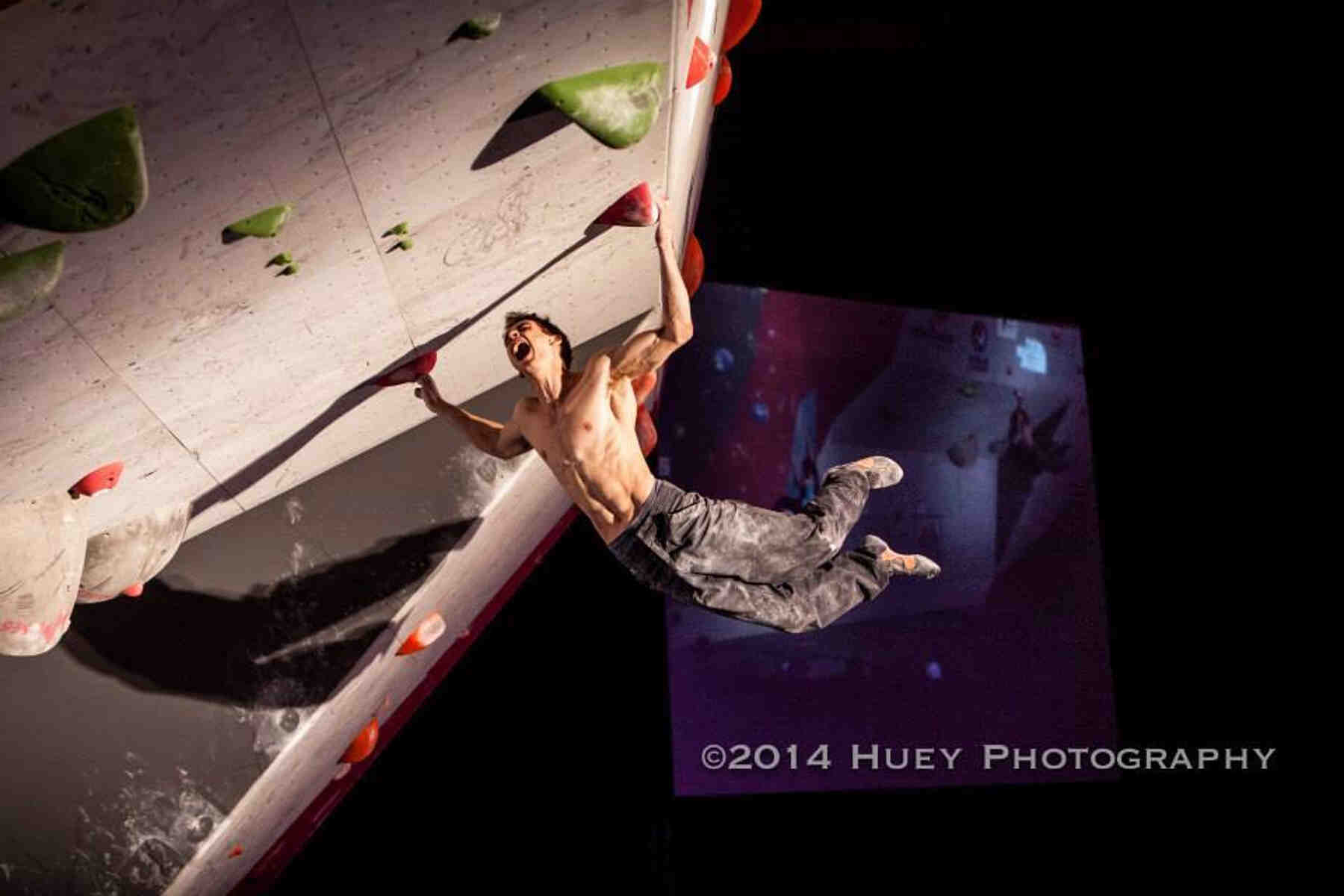 Michael O'Rourke - FrictionLabs Rock Climbing Chalk Pro Athlete - 2014 photo credit Huey Photography