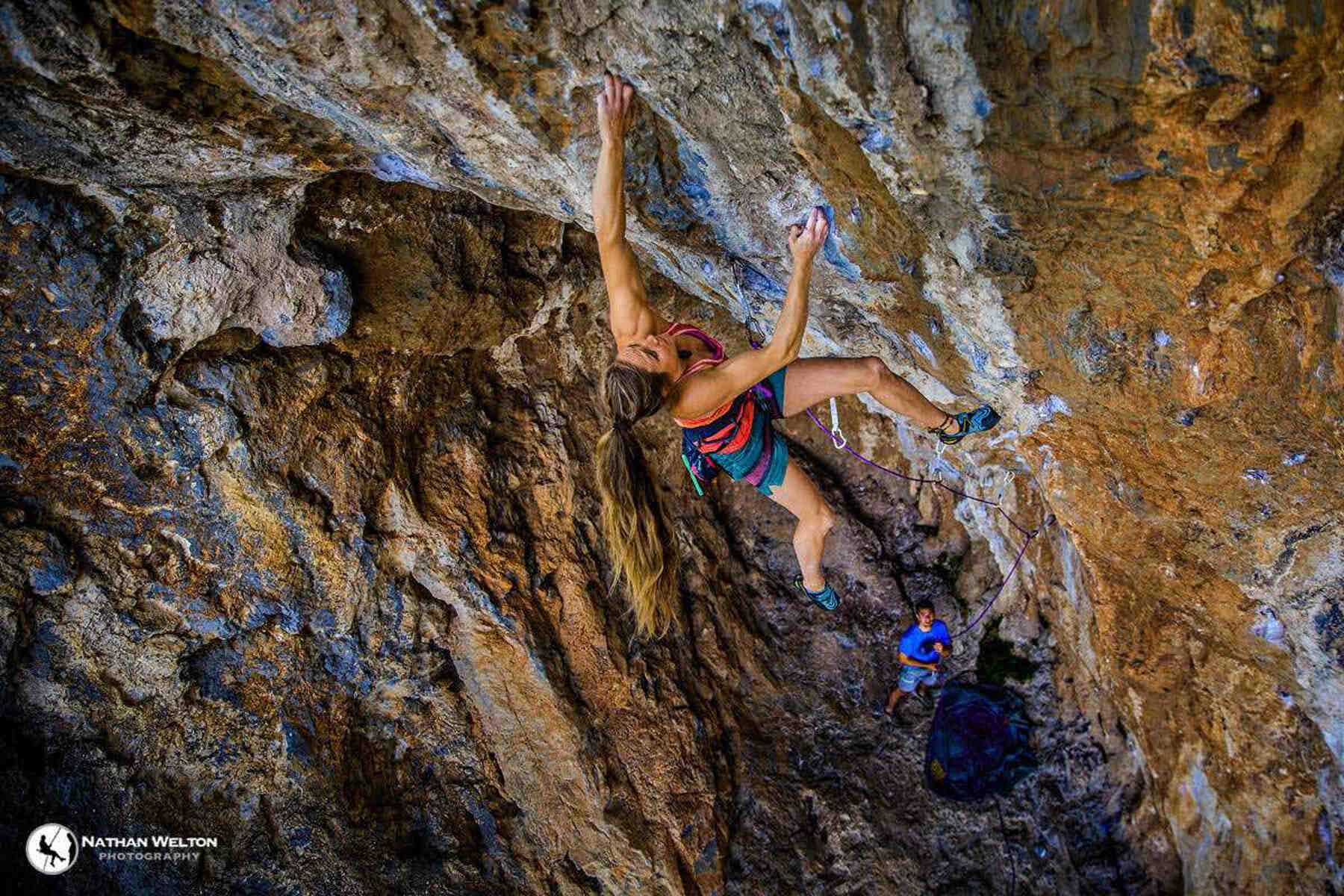 Rannveig Aamodt  - FrictionLabs Rock Climbing Chalk Pro Athlete - photo credit Nathan Welton Photography