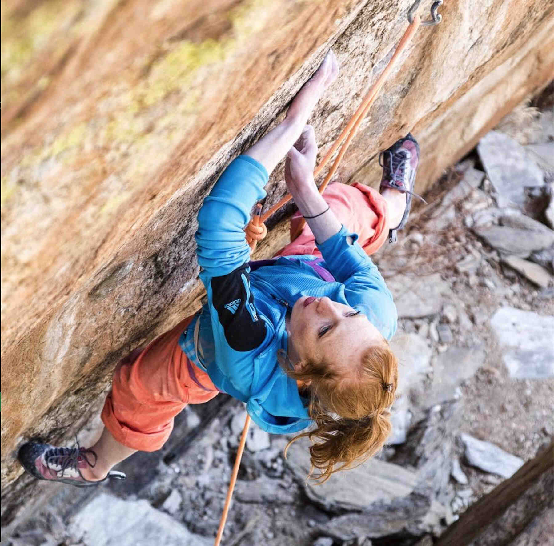 Delaney Miller - FrictionLabs Rock Climbing Chalk Pro Athlete