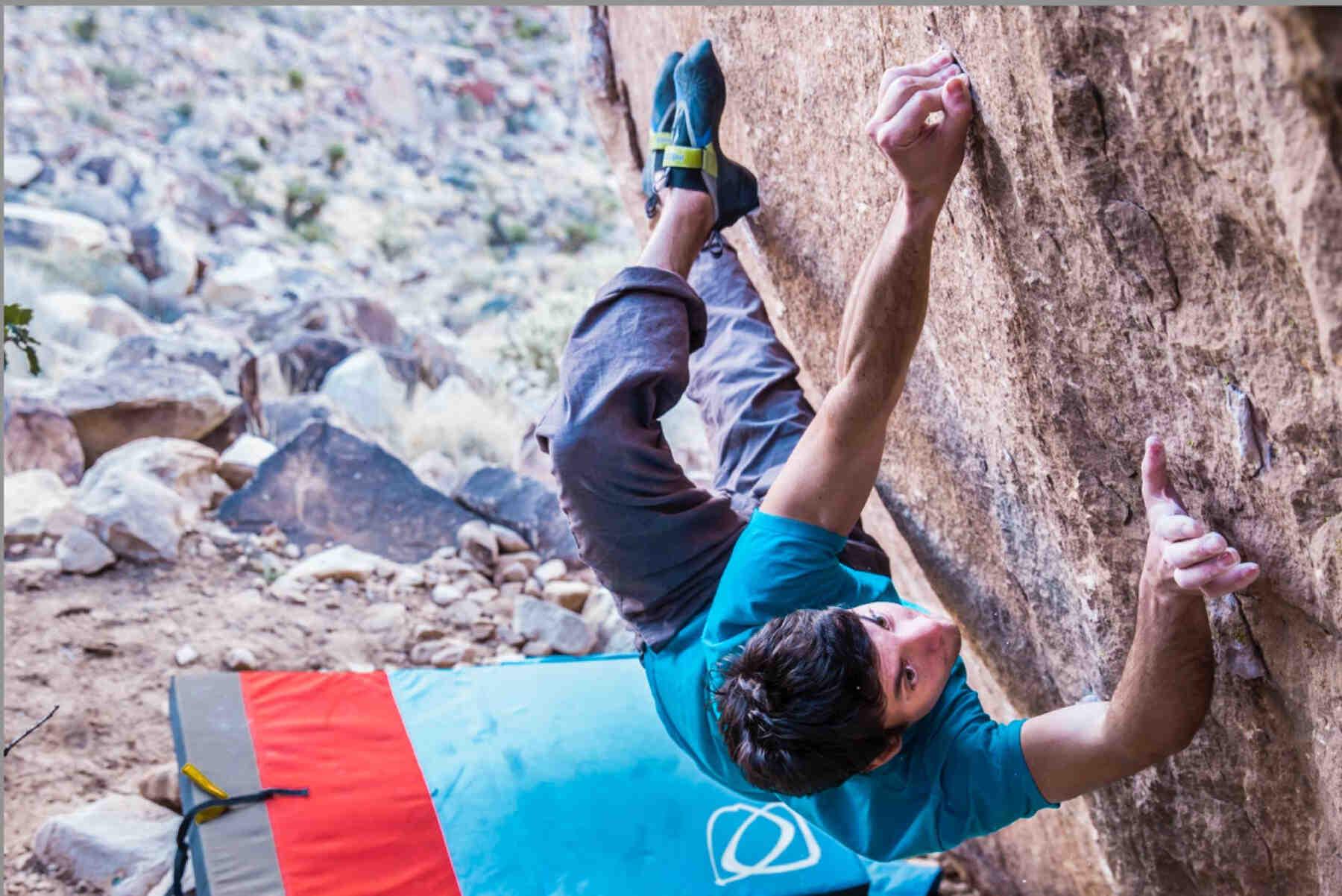 Paul Robinson - FrictionLabs Rock Climbing Chalk Pro Athlete