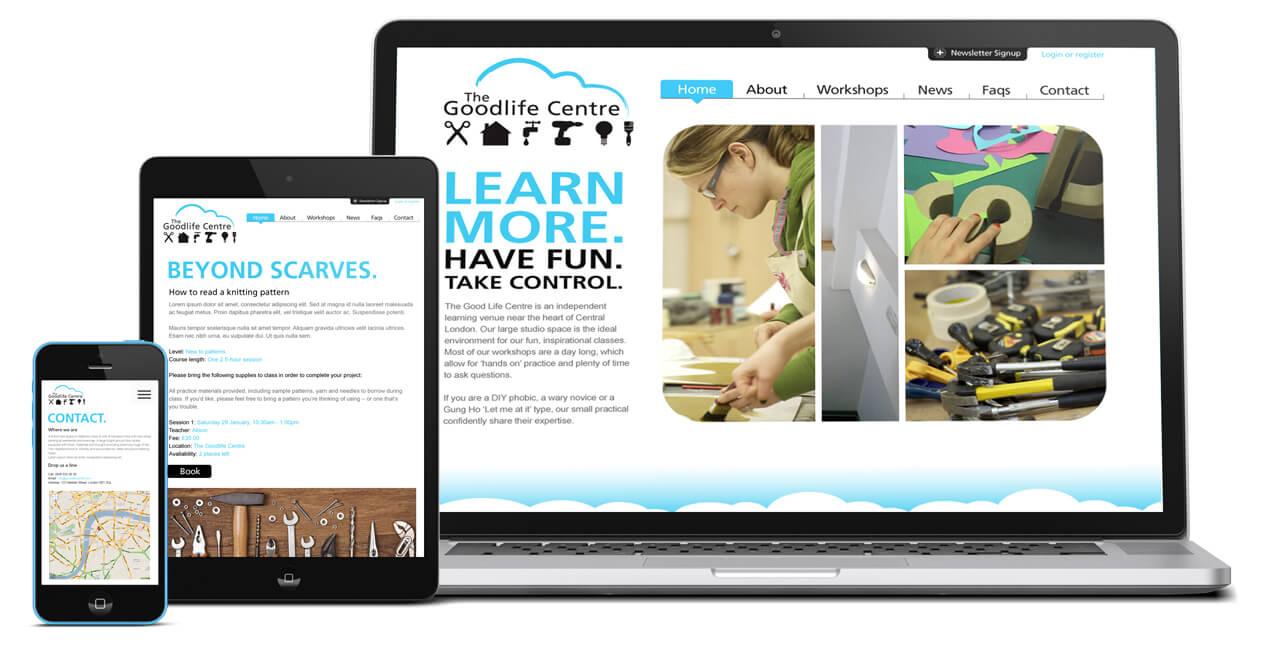 The Goodlife Centre website
