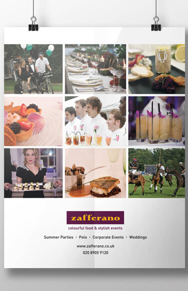 Zafferano poster