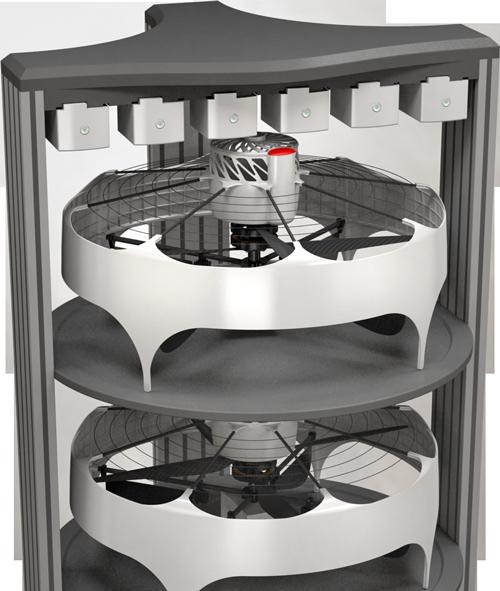 Uvionix nSKY RACK - storage and charging