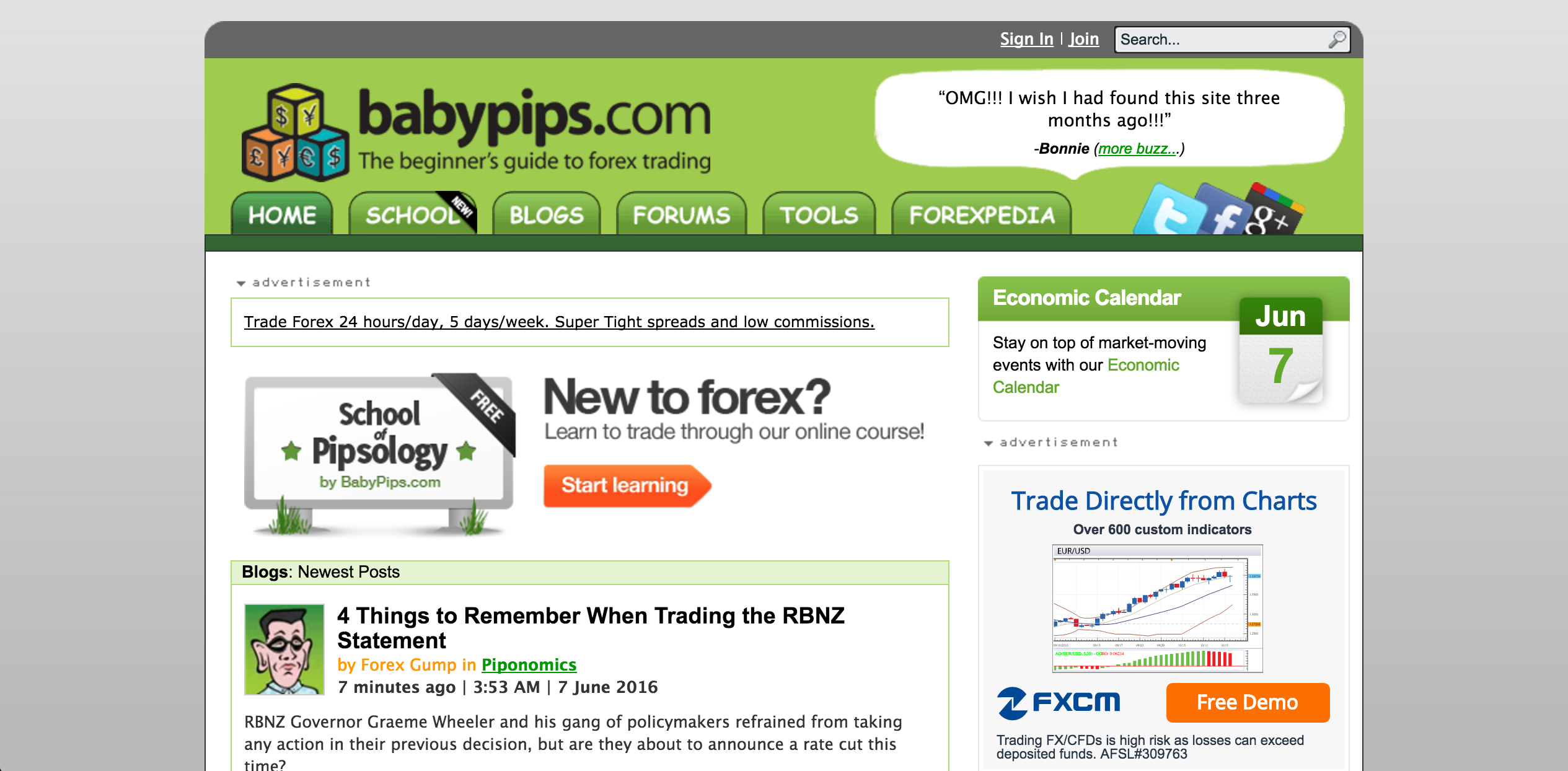 Forex blogs uk