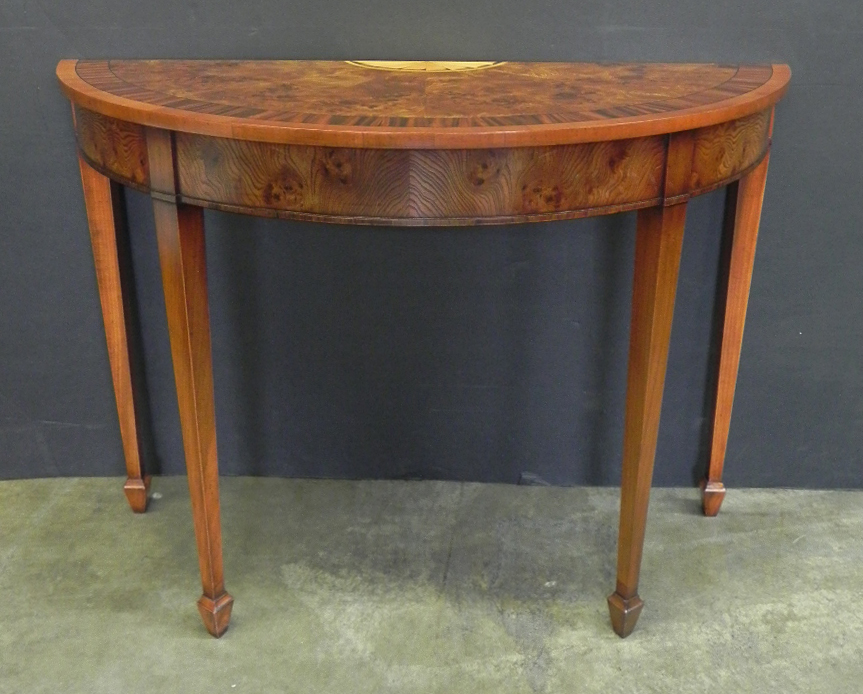 Englishmans for Table demi lune extensible