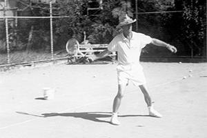 Eddie Jensen court 2 c.1964