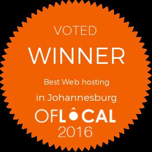 Best Web hosting in Johannesburg
