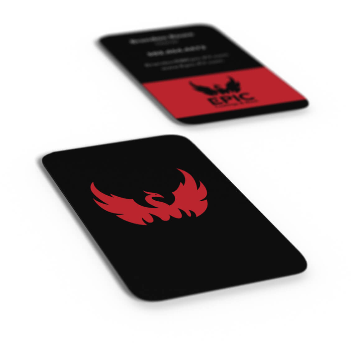 Epic Coatings and Blast Business Cards
