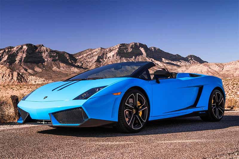 2014 Lamborghini Gallardo Convertible (Blue)