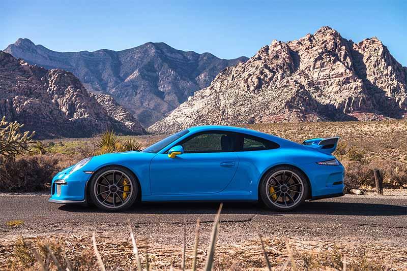 2016 Porsche 911 GT3 (Blue)