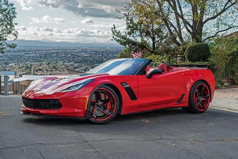2016 Corvette Z06 Convertible (Red)