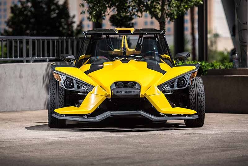 2015 Polaris Slingshot (Yellow)