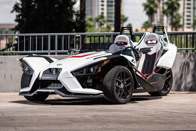 Rent a 2016 Polaris Slingshot SL (White) in Las Vegas ...
