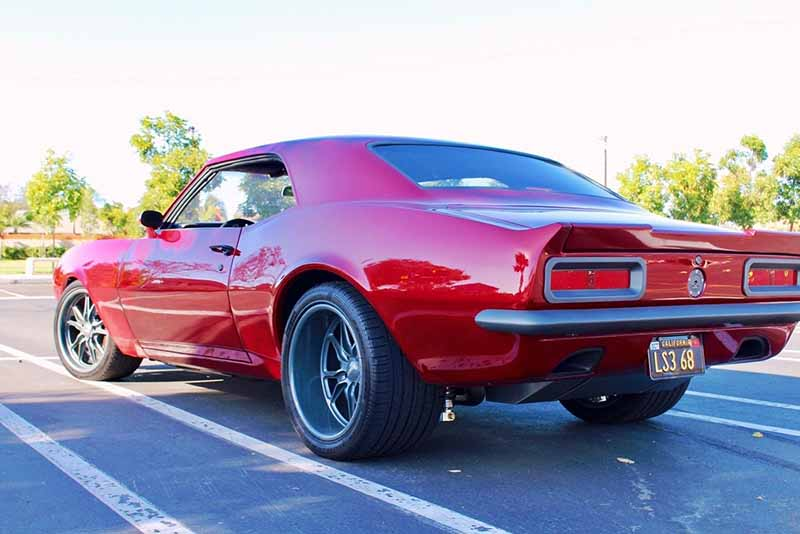 1968 Chevrolet Camaro LS3 (Red)