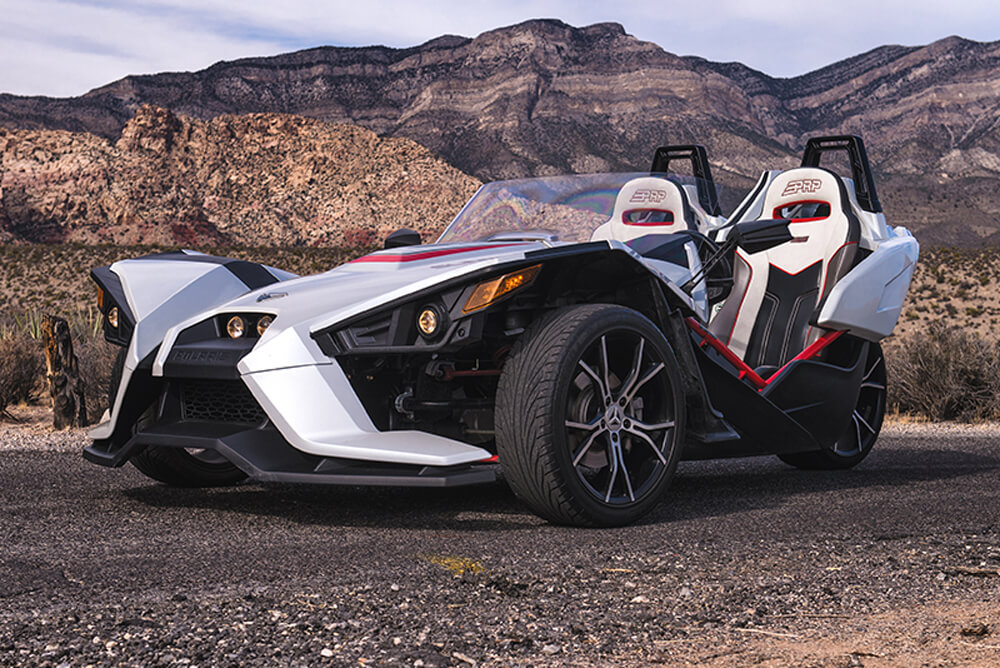 2016 Polaris Slingshot SL (White)