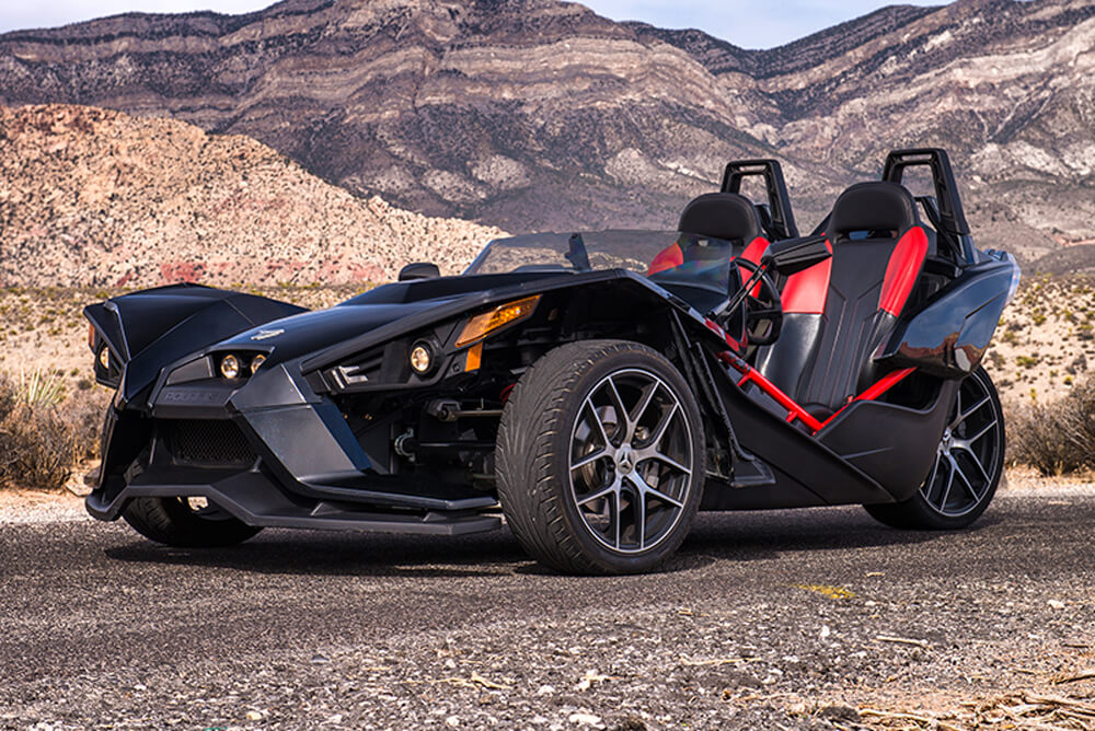 2016 Polaris Slingshot SL (Black)