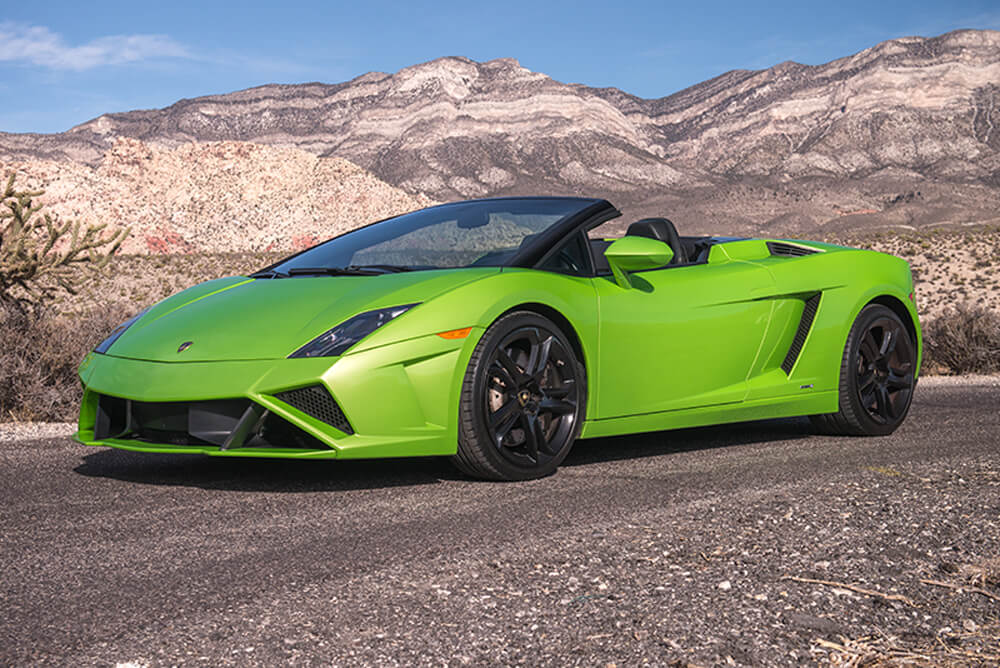 2014 Lamborghini Gallardo Convertible (Green)