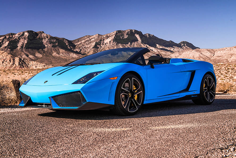 2014 Lamborghini Gallardo Convertible (Blue)